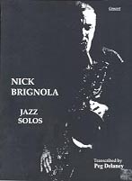 Nick Brignola Jazz Solos for C