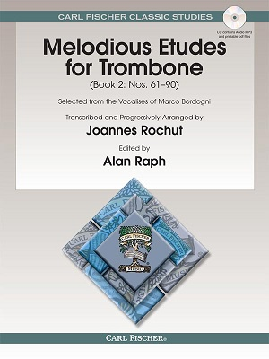 Melodious Etudes for Trombone, Book 2: Nos. 61 - 90