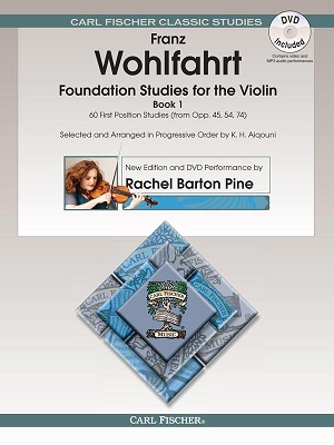 Foundation Studies for The Violin, Vol. 1 60 First Position Studies (From Opp. 45, 54, 74)