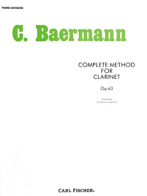 Complete Method for Clarinet, Opus 63