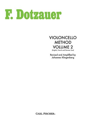 Violoncello Method: Volume 2