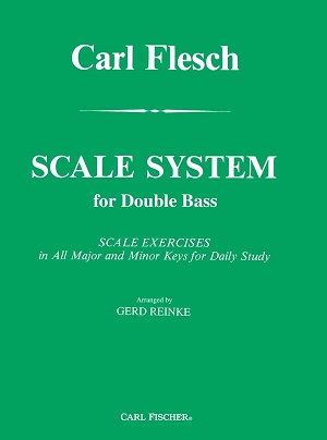 Scale System for Doublebass