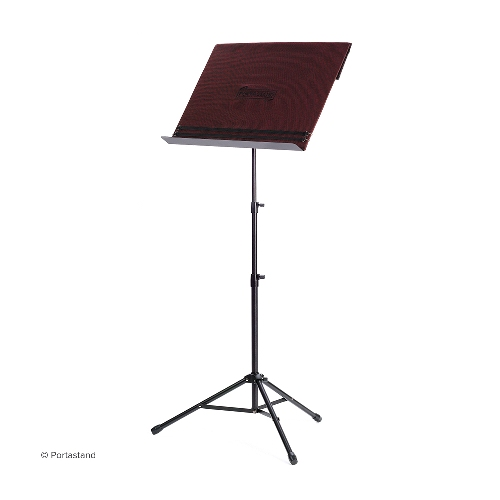 Troubadour - Portable Music Stand (burgundy)