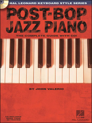 Post Bop Jazz Piano - Hal Leonard Keyboard Style Series