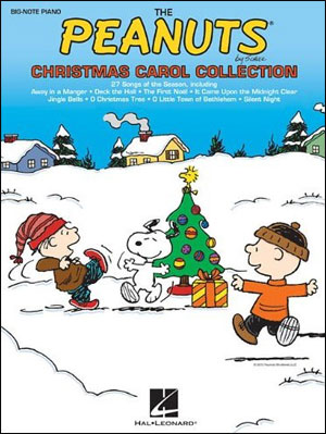 The Peanuts Christmas Carol Collection - Big Note Piano