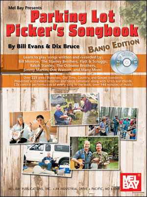 Parking Lot Picker's Songbook - Banjo Edition Book/2-CD Set