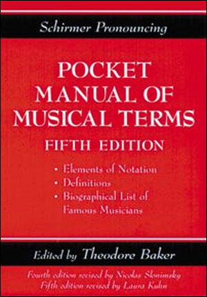 Pocket Manual of Musical Terms