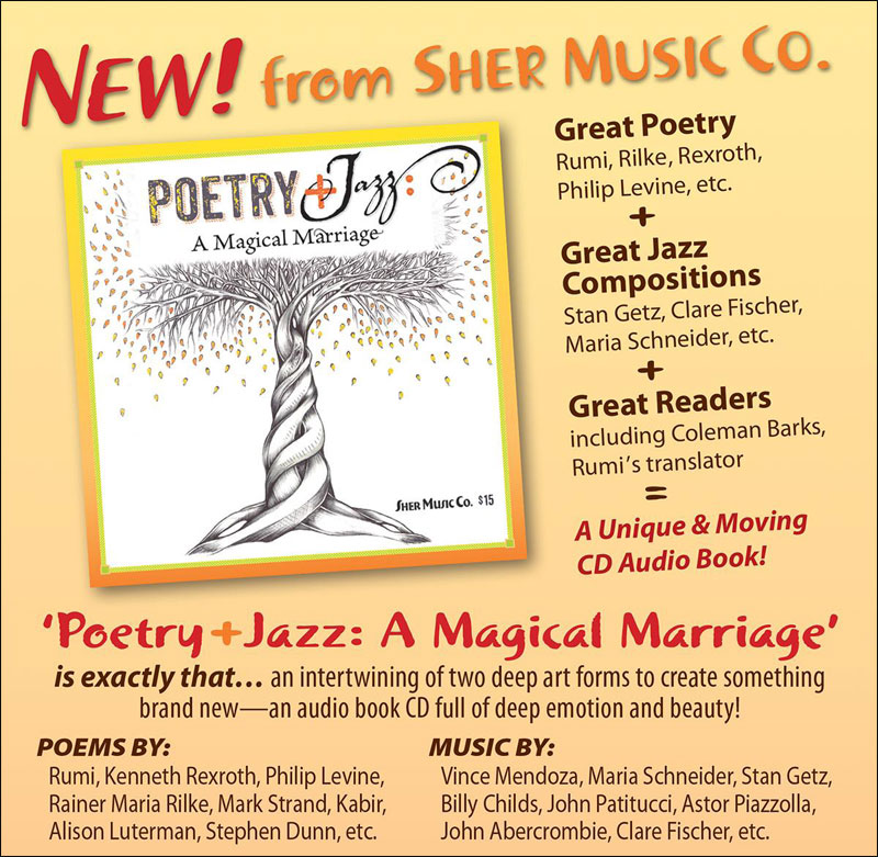 Poetry+Jazz: A Magical Marriage -  Unique CD Audiobook!