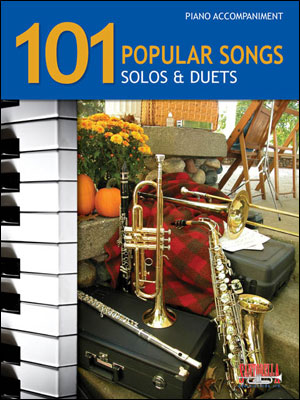 101 POPULAR SONGS - SOLOS AND DUETS FOR PIANO