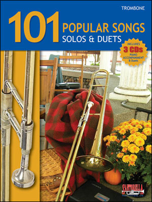 101 POPULAR SONGS - SOLOS AND DUETS FOR TROMBONE