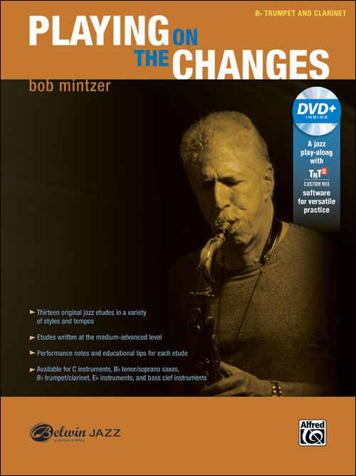 Playing On The Changes - B-flat Trumpet & Clarinet
