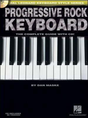 PROGRESSIVE ROCK KEYBOARD - Hal Leonard Keyboard Style Series
