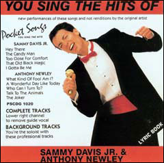 You Sing The Hits of Sammy Davis Jr & Anthony Newley - CD
