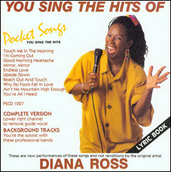 You Sing The Hits of Diana Ross - CD