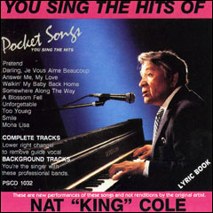 """You Sing The Hits of Nat """"King""""Cole - CD"""
