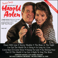 You Sing The Hits of Harold Arlen - CD