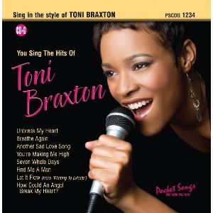 You Sing The Hits of Toni Braxton - CD