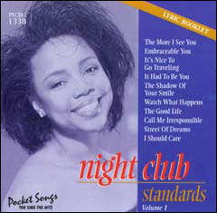 Night Club Standards Vol. 1 (Female Singers) - CD