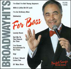 Broadway Hits for Bass - CD