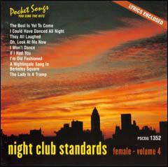 Night Club Standards Vol. 4 (Female Singers) - CD