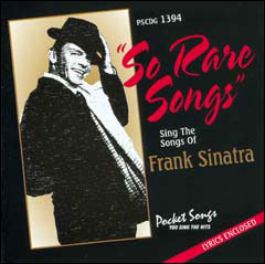 Sing The Songs of Frank Sinatra: So Rare Songs - CD