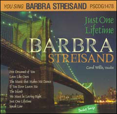 You Sing Barbra Streisand: Just One Lifetime - CD
