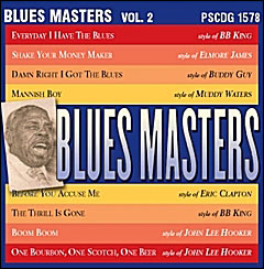 Blues Masters: Vol. 2 - CD