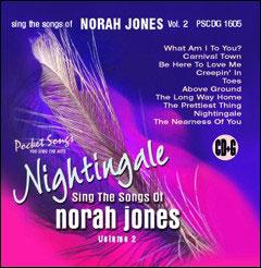 Sing The Songs of Norah Jones Vol. 2: Nightingale - CD
