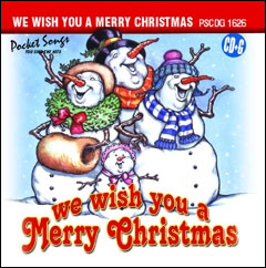 We Wish You A Merry Christmas - CD