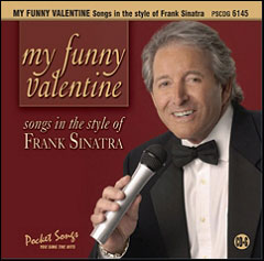 My Funny Valentine - Songs in the style of Frank Sinatra - CD