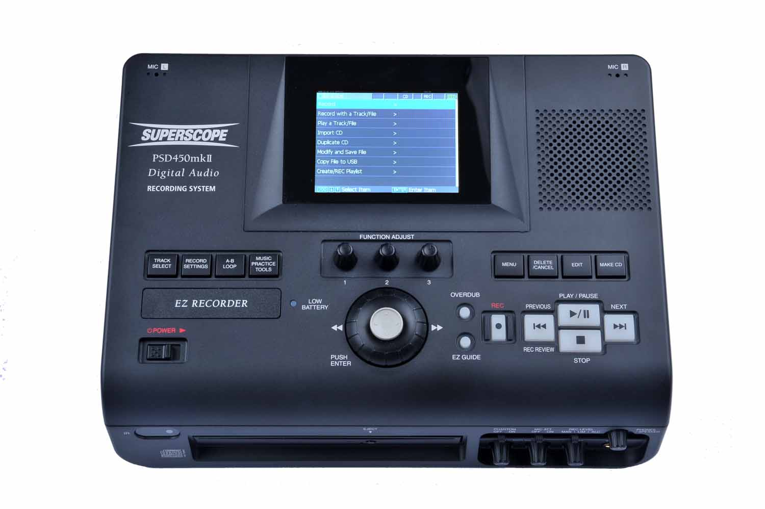 PSD450mkII-32 Solid State/CD Audio Recorder System (32GB Model)