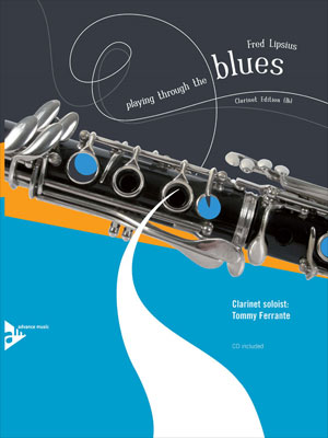 Playing Through the Blues - Book/CD - Clarinet