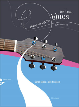 Playing Through The Blues - Book/CD - Guitar
