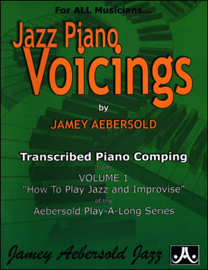 Piano Voicings From The Volume 1 Play-A-Long