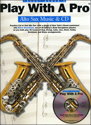 Play With A Pro For Alto Saxophone Book/CD
