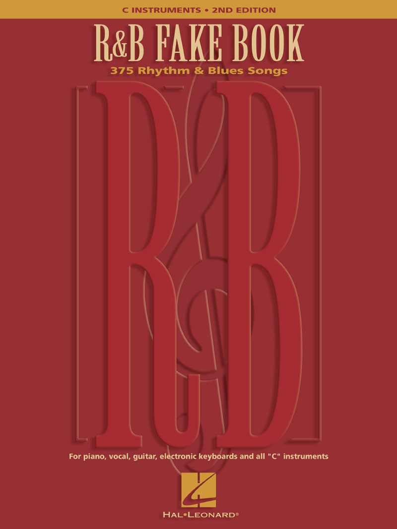 R&B FAKE BOOK - 2ND EDITION - C INSTRUMENTS