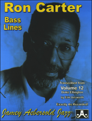 "Transcribed  Bass Lines to Vol. 12 ""Duke Ellington"""