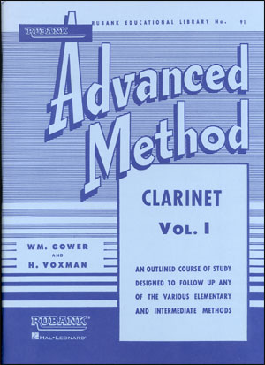 Rubank Advanced Method For Clarinet Volume 1