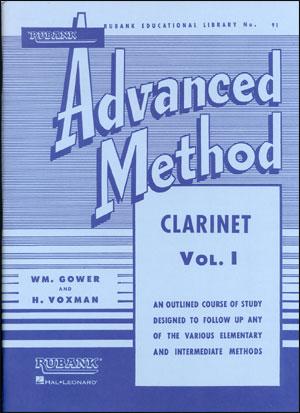 Rubank Advanced Method For Clarinet Volume 1
