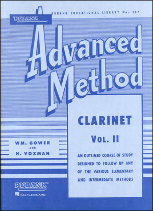 Rubank Advanced Method For Clarinet Volume 2
