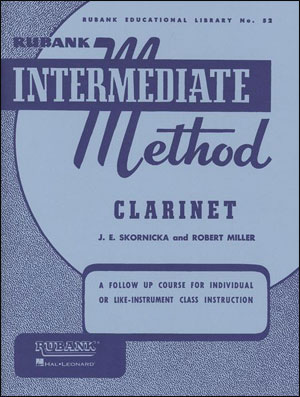 Rubank Intermediate Method For Clarinet