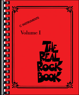 The Real Rock Book - Vol. 1 - C Instruments