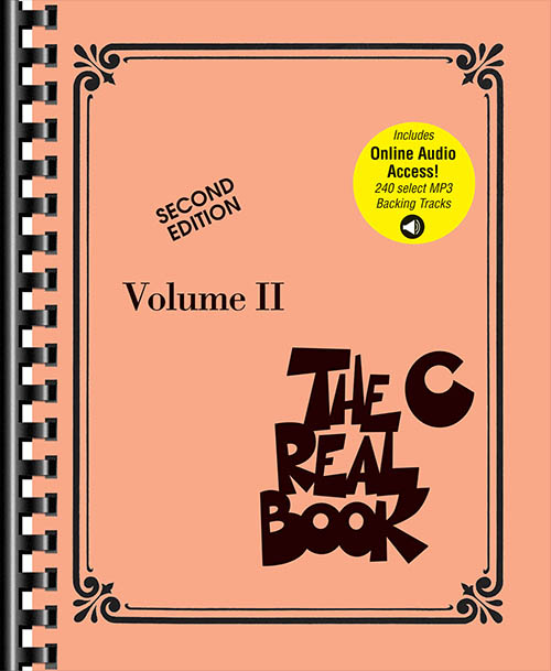 The Real Book Volume II Second Edition - C Edition (Book + Online Audio)