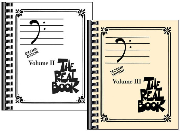 The Real Book Bundle Pack - Volumes 2 & 3 - Bass Clef Edition