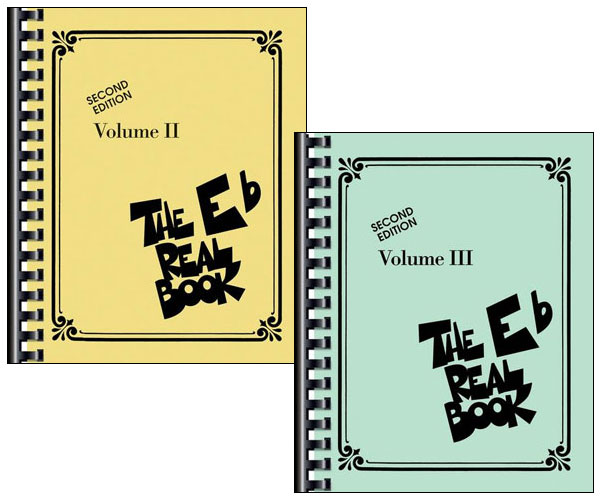 THE REAL BOOK VOLUMES 2 & 3 - E Flat Edition