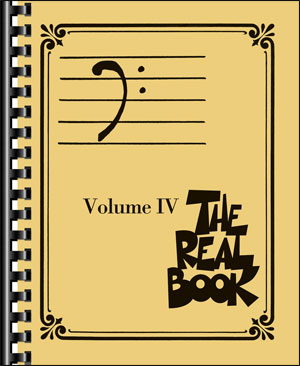 The Real Book Volume 4 - Bass Clef Edition