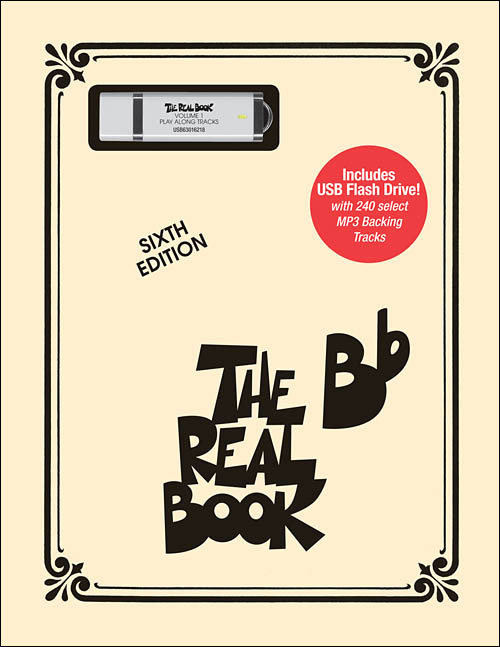 The Real Book – Volume 1 B Flat - Book/USB Flash Drive Play-Along Pack
