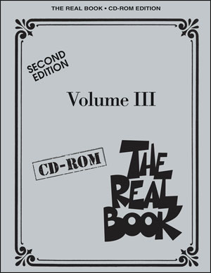 PDF Edition! The Real Book Volume III - CD-ROM (C Edition)