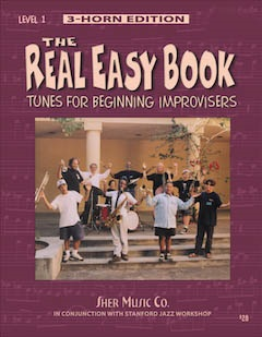 The Real Easy Book - Vol. 1 Tunes for Beginning Improvisers - 3 Horn Edition - Bass Clef