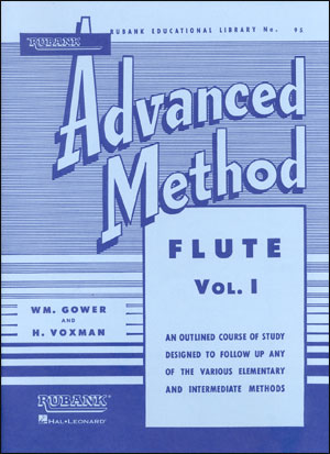 Rubank Advanced Method For Flute - Volume 1